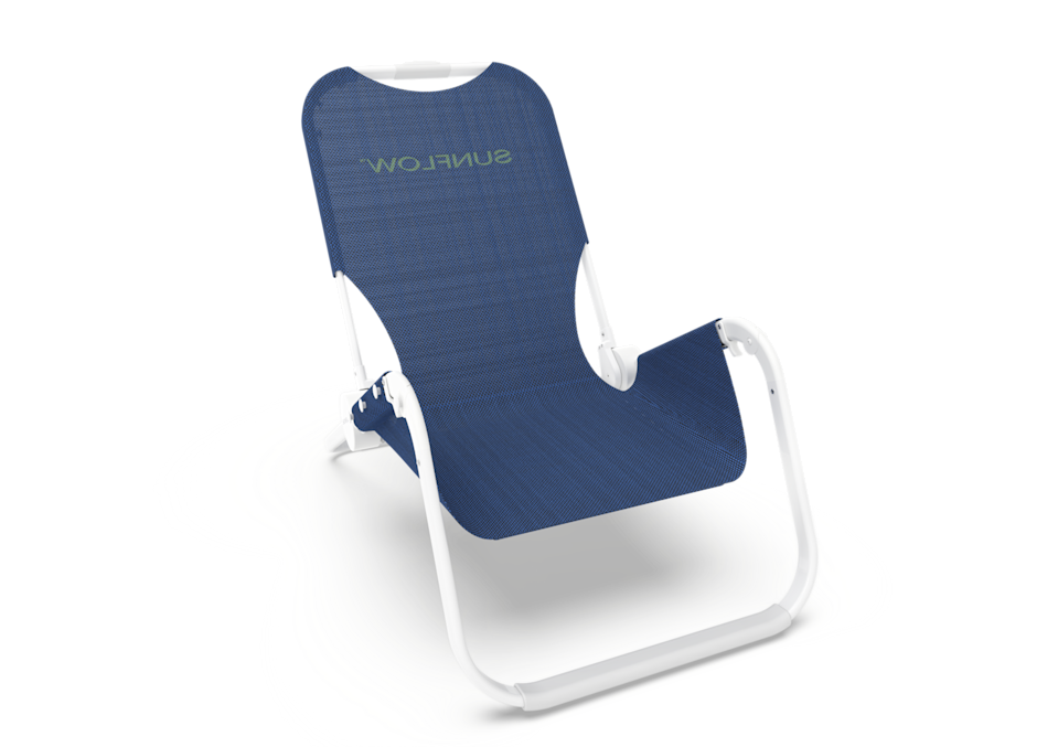 """<p>getsunflow.com</p><p><strong>$198.00</strong></p><p><a href=""""https://getsunflow.com/collections/chairs/products/signature-beach-chair?variant=31716366647348"""" rel=""""nofollow noopener"""" target=""""_blank"""" data-ylk=""""slk:BUY IT HERE"""" class=""""link rapid-noclick-resp"""">BUY IT HERE</a></p><p>This Sunflow beach chair is uniquely designed and expertly crafted so you can enjoy the best seat on the beach. The super lightweight aluminum frame makes it easy to haul to the sand and back home. </p>"""