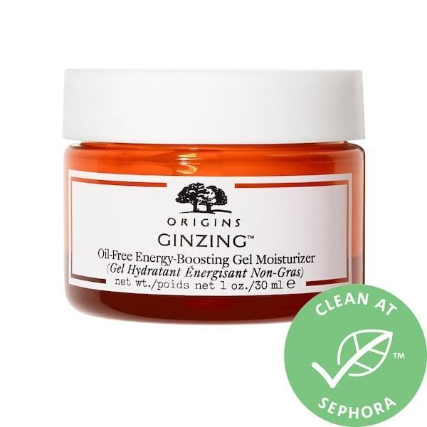 <p>Not only is skin left well-hydrated with this <span>Origins GinZing Oil-Free Energy Boosting Gel Moisturizer</span> ($19-$31), there's also ginseng and caffeine to refresh at the same time.</p>