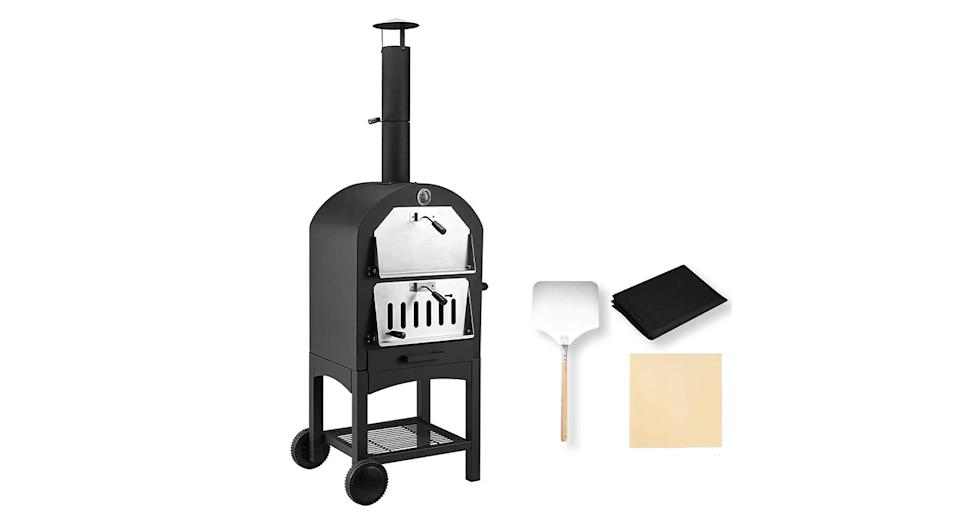Unionline Outdoor Wood Fire Pizza Oven