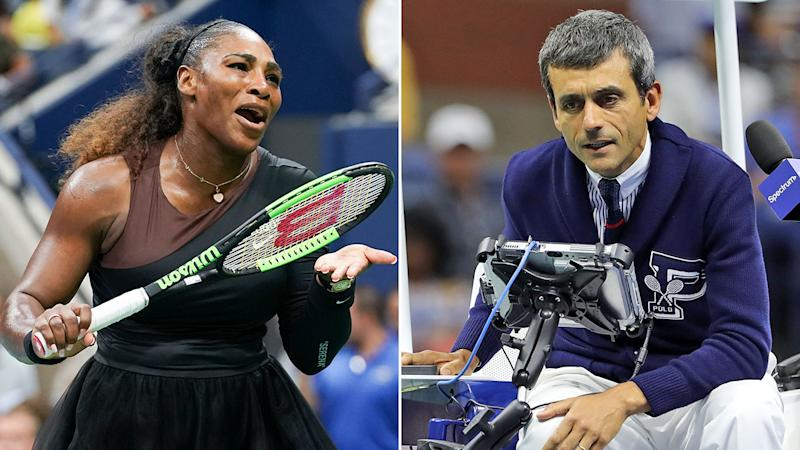 Umpire in Serena's US Open row says he is 'fine'