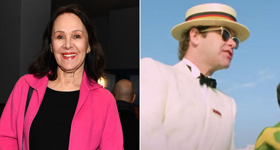 Arlene Philiips worked on the iconic video for Elton John's 1983 hit 'I'm Still Standing' (Getty/UMG)