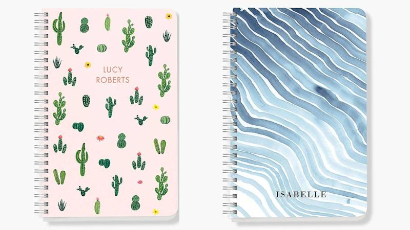 Best personalized gifts 2019: Paper Source custom journals