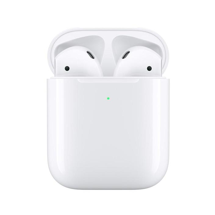 "<h2>AirPods with Charging Case</h2> <br>No one will reject the gift of fresh Airpods. <br> <br> <strong>Apple</strong> AirPods with Charging Case, $, available at <a href=""https://go.skimresources.com/?id=30283X879131&url=https%3A%2F%2Ffave.co%2F3ds3Lty"" rel=""nofollow noopener"" target=""_blank"" data-ylk=""slk:Apple"" class=""link rapid-noclick-resp"">Apple</a>"