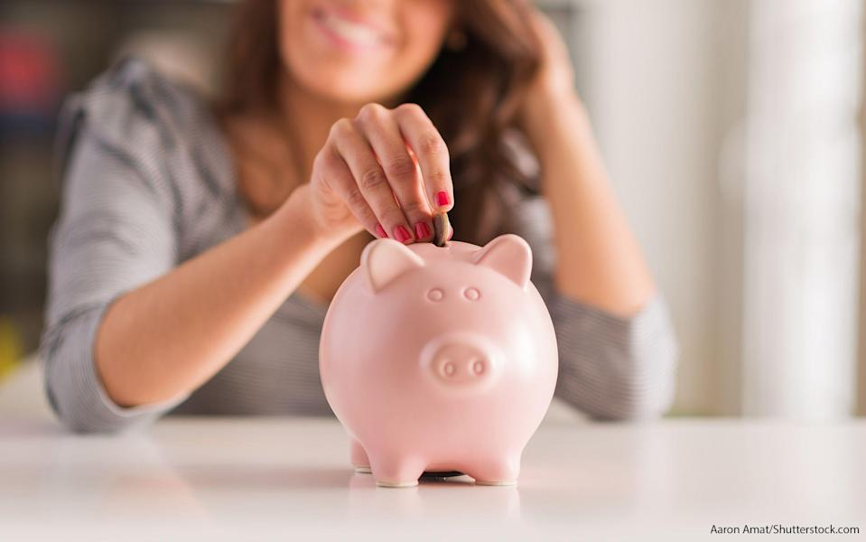 Saving money is a habit you have to practice