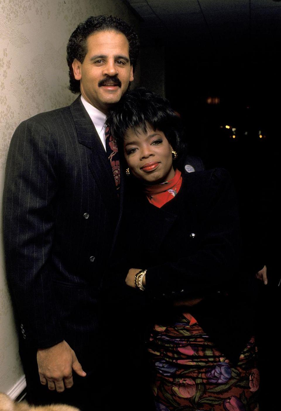 <p>Winfrey began dating Graham in 1986, the same year her namesake show launched, after meeting him at a charity event. The pair got engaged in 1992, but decided against marriage.</p>