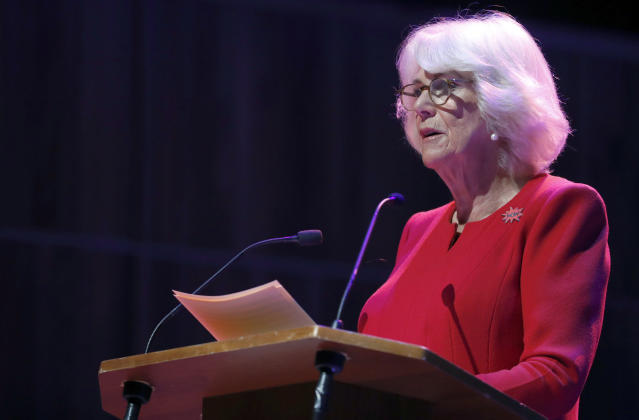 Camilla's speech was a year in the works. (Getty Images)