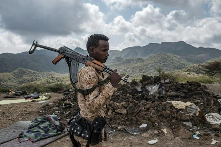 Soldiers from Afar were involved in the central government's November 2020 push into Tigray