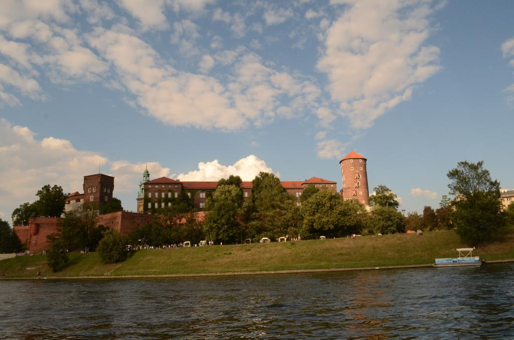 We were cruising on the Vistula, Poland's longest and most important river, when I saw the beautiful Wawel Castle, a landmark of the city of Krakow. Sitting pretty atop a limestone outcrop called Wawel Hill, this castle has seen the rise and fall of many a dynasty. The hill itself may be over 100 million years old and has been inhabited since the Palaeolithic Age. Today, it houses a mosaic of monuments including the 1,000-year-old cathedral and the ancient castle.