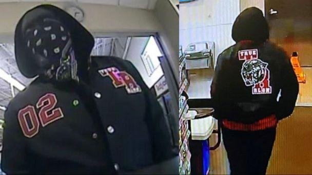 PHOTO: Houston police are looking for a bank robbery suspect who used a note blaming COVID-19 as a reason why he is holding up a bank. (Houston Police Department)