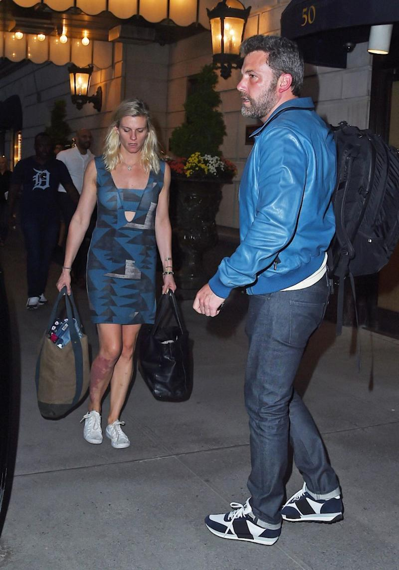 Ben went public with girlfriend Lindsay Shookus in August 2017. Source: Getty