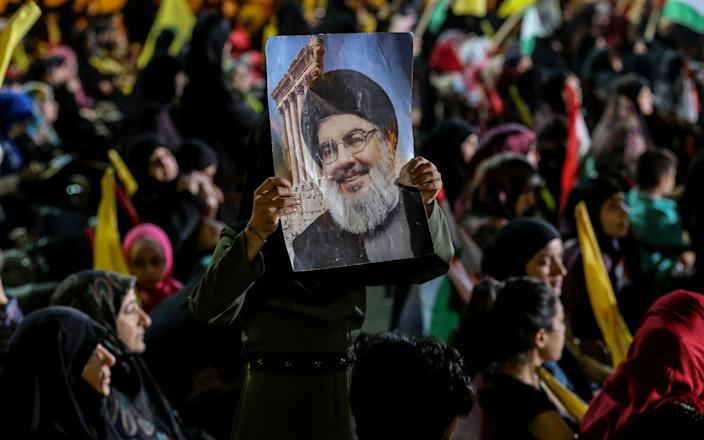 Mariam Thompson claimed to have received a ring from Hassan Nasrallah - Rex