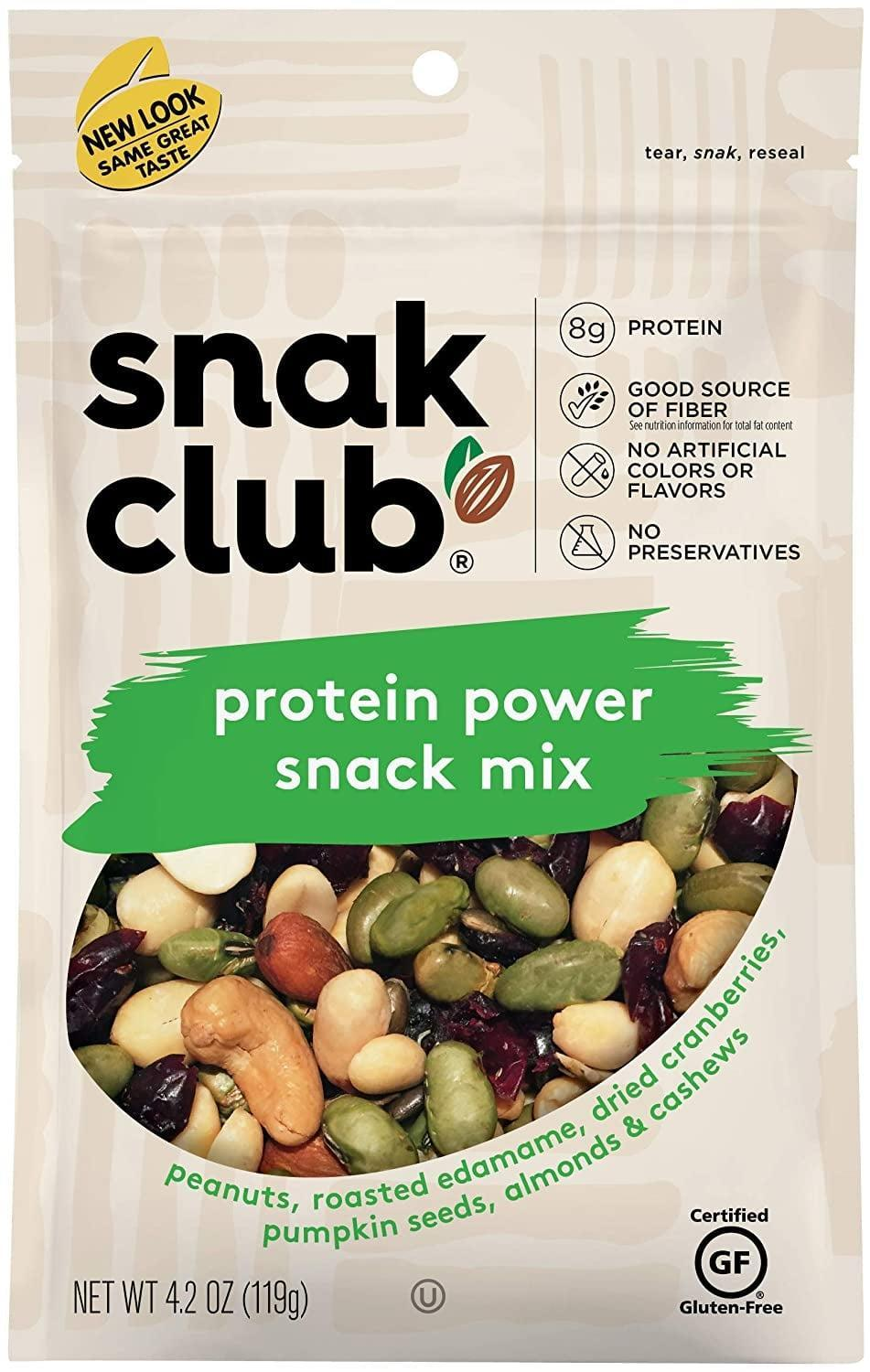 <p>This <span>Snak Club Assorted Mixes</span> ($26) features spicy peanuts, butter toffee peanuts, toasted corn, Cajun and honey sesame sticks and almonds, for your eating pleasure.</p>