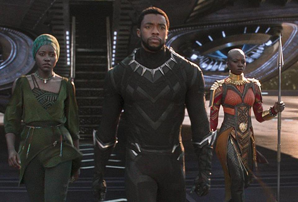 Chadwick Boseman at the Black Panther. Could a sequel be announced? (Disney/Marvel)