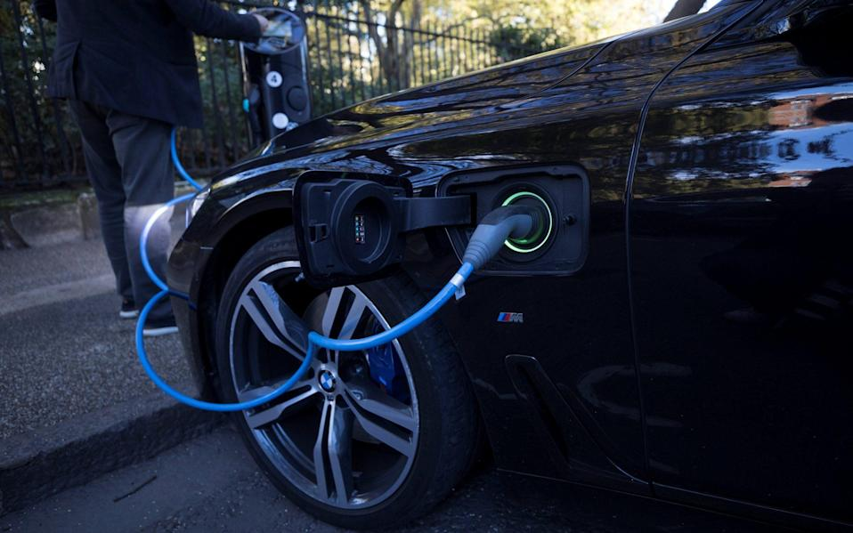 Electric cars have risen sharply in popularity in recent years, with more than 200,000 on the UKs roads - Reuters