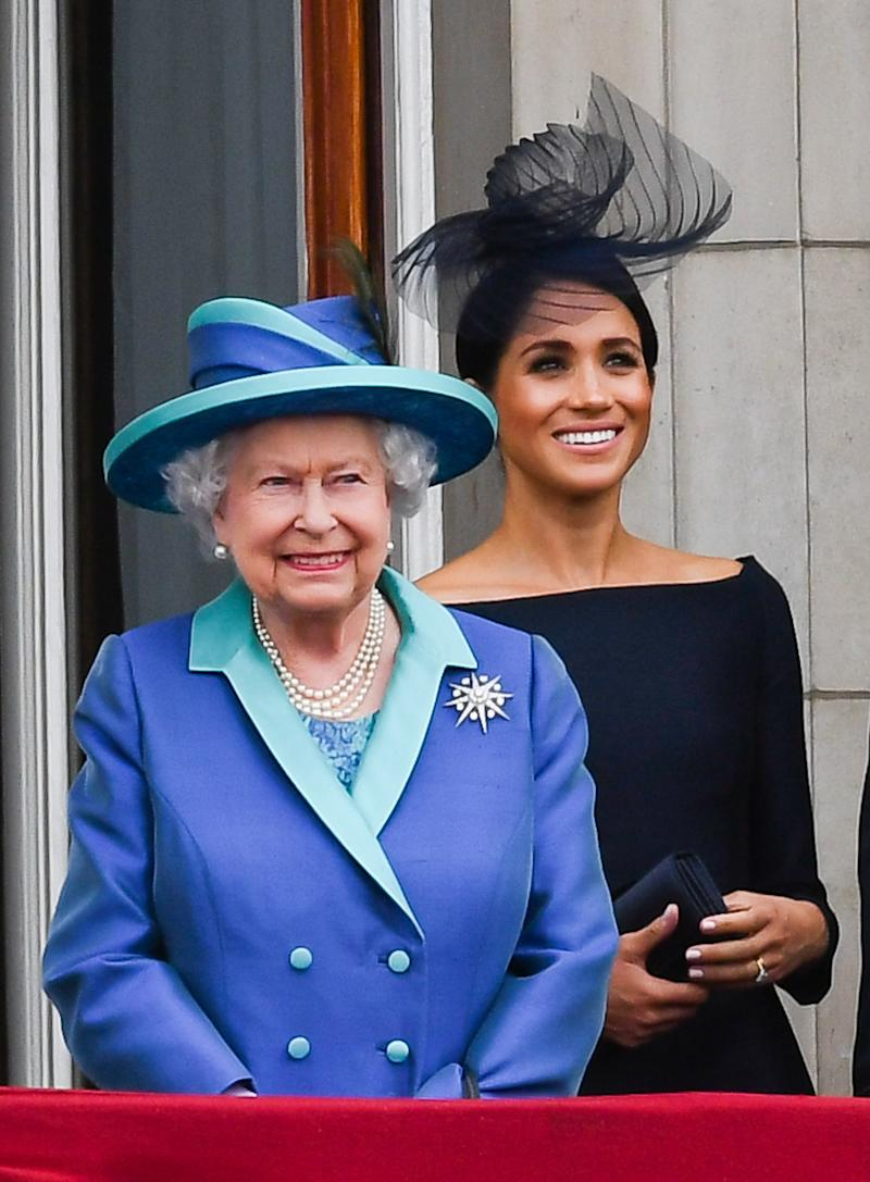 Queen Elizabeth Sent a Message of Support for Meghan Markle's Home State of California