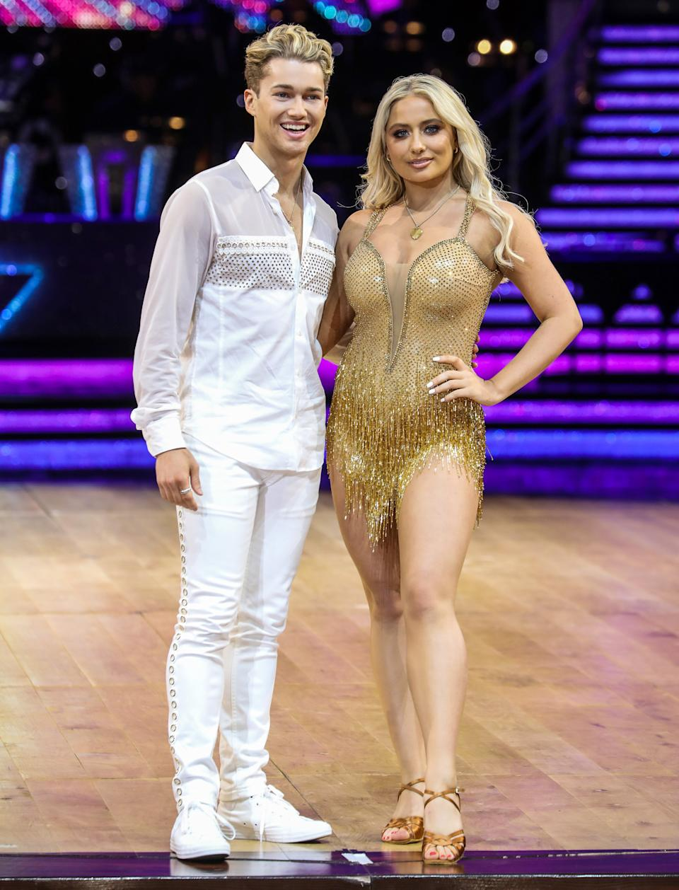 Saffron Barker was the second social media star to sign up to Strictly, after Joe Sugg. (Brett Cove / Echoes Wire / Barcroft Media via Getty Images)
