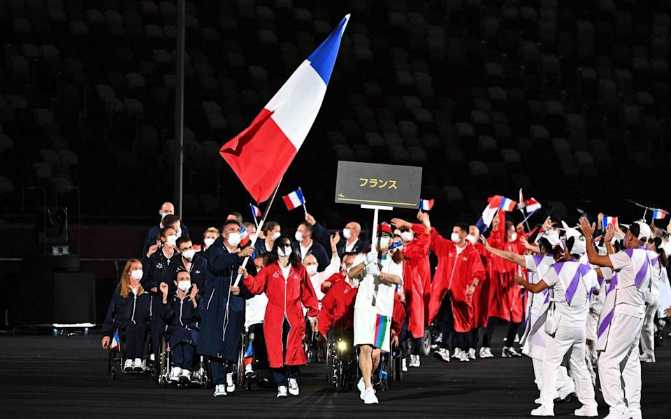 paralympics opening ceremony 2021 live updates tokyo 2020 - AFP