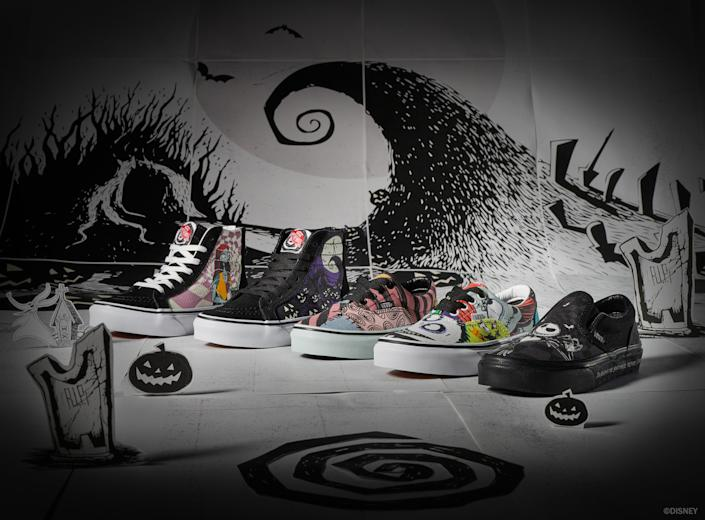 Vans 'The Nightmare Before Christmas' collection — VANS