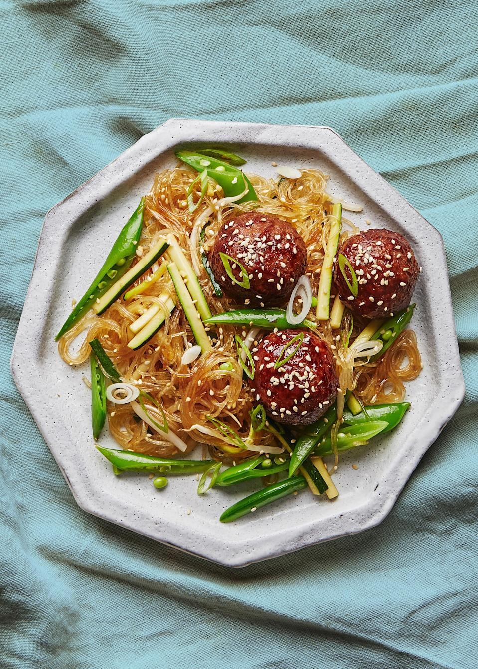 "<a href=""https://www.bonappetit.com/recipe/hoisin-turkey-meatballs-with-glass-noodles?mbid=synd_yahoo_rss"" rel=""nofollow noopener"" target=""_blank"" data-ylk=""slk:See recipe."" class=""link rapid-noclick-resp"">See recipe.</a>"