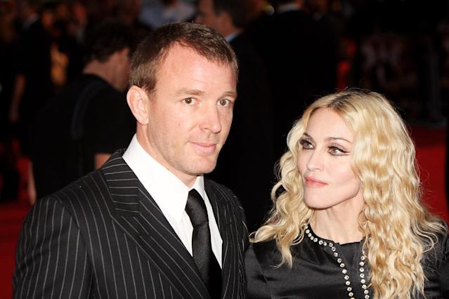 Guy Ritchie and Madonna were married from 2000 until 2008 (Getty)