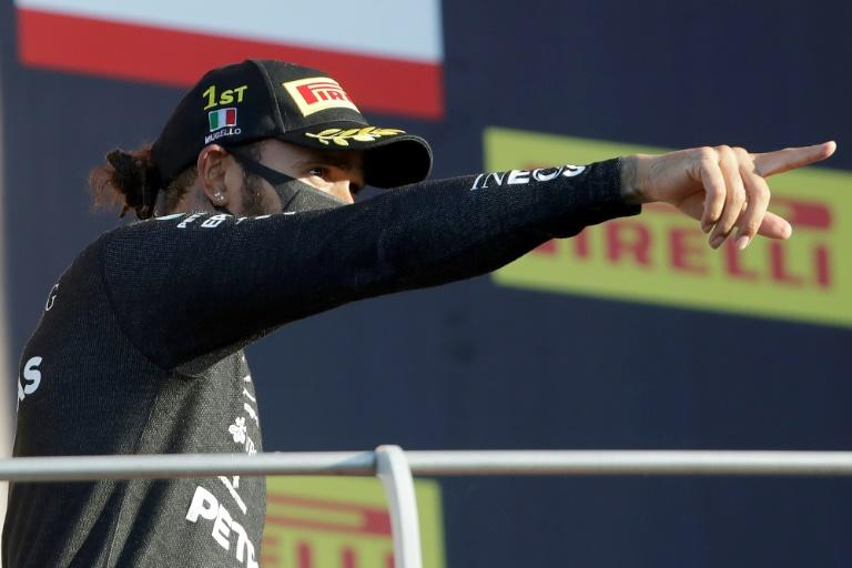 Lewis Hamilton wins chaotic Tuscan Grand Prix