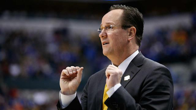 The wife of the Wichita State coach was very, um, animated during the Shockers' second-round loss to Kentucky.