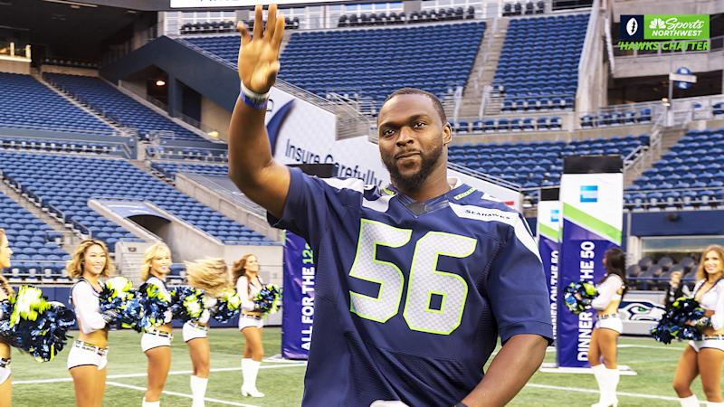Cliff Avril named 2020 Seahawks Legend of the Year