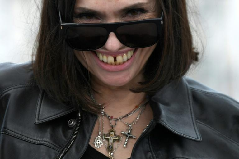 """Keep the faith: French actress Beatrice Dalle takes time out in a convent for her """"Call My Agent!"""" episode"""
