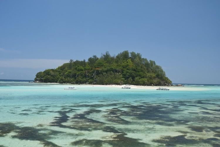 Moyenne Island in the Seychelles. (SWNS)