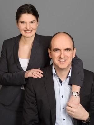 DGLegacy founders Ana and Peter Minev