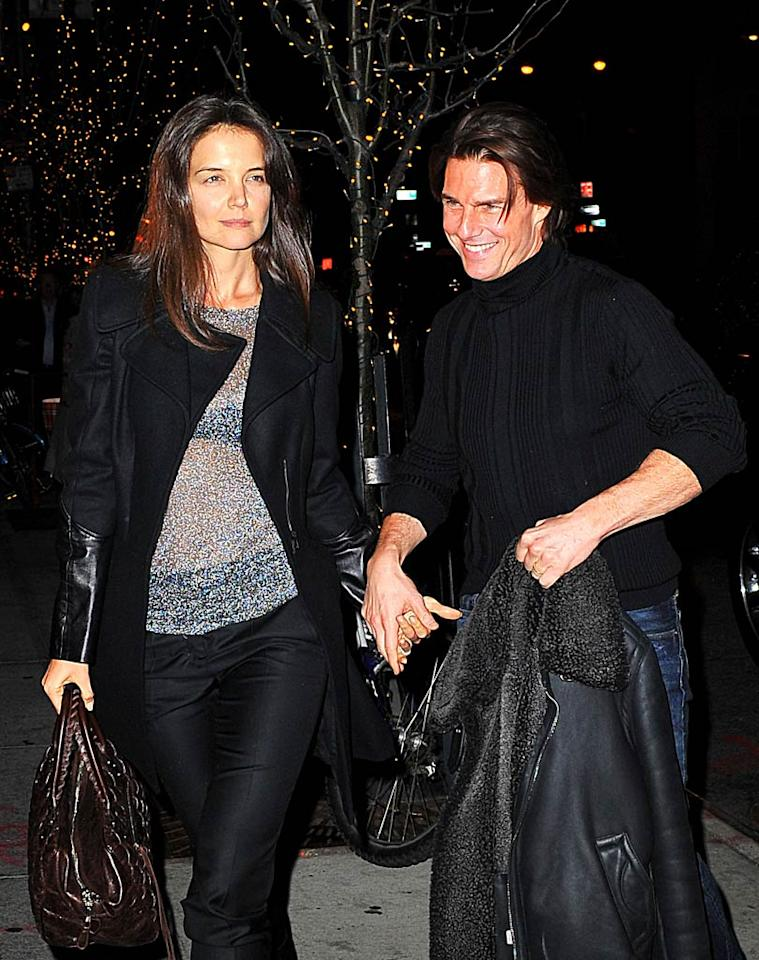 "<i>In Touch</i> reports that ""amidst rumors of marital woes, Tom Cruise insists Katie Holmes accompany him everywhere."" As a result of being dragged whenever and wherever Cruise chooses, the magazine notes Holmes is now looking ""worryingly weary."" For how bad the situation has become, and what Holmes is going to do next, log on to <a href=""http://www.gossipcop.com/tom-cruise-katie-holmes-marriage-travel/"" target=""new"">Gossip Cop</a>. Ahmad & Saleem Elatab/<a href=""http://www.splashnewsonline.com"" target=""new"">Splash News</a> - December 18, 2010"