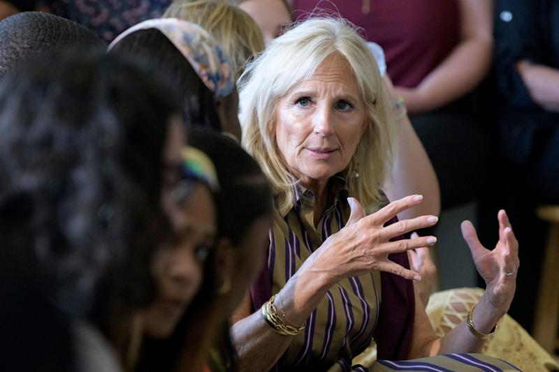 Jill Biden to Democrats: Your candidate may be 'better' on some policies but Joe Biden will beat Trump
