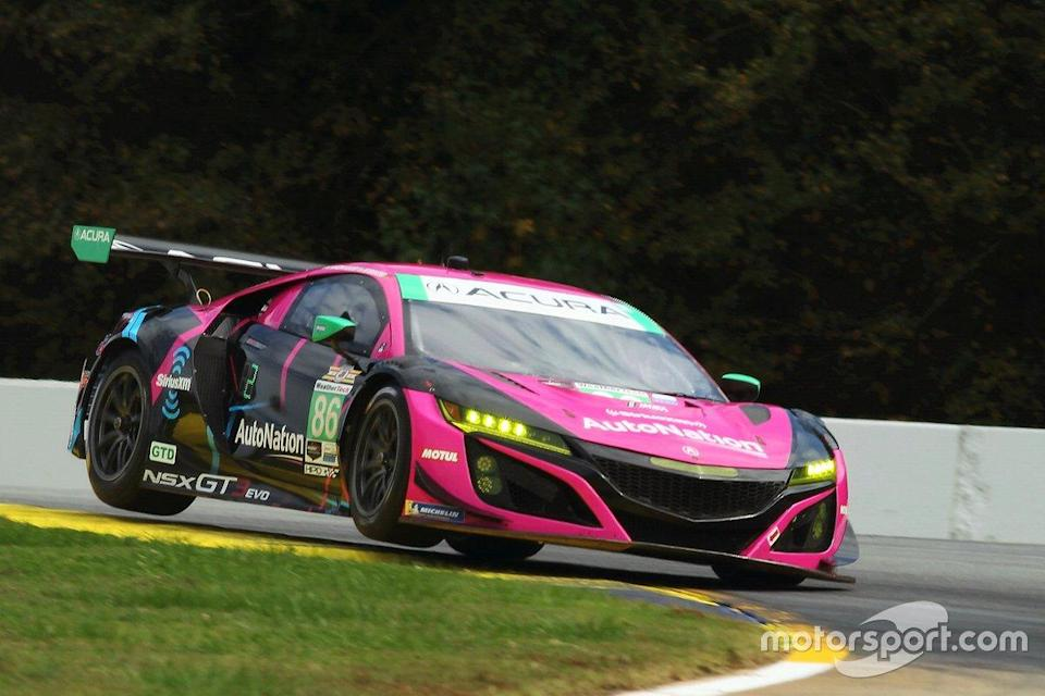 "Meyer Shank Racing w/ Curb-Agajanian Acura NSX of Mario Farnbacher, Matt McMurry, Shinya Michimi.<span class=""copyright"">Art Fleischmann</span>"