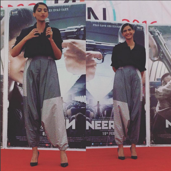 <p>Bollywood's favourite fashionista does this trend right even with a desi touch.</p><p>Instagram.com/sonamkapoor</p>