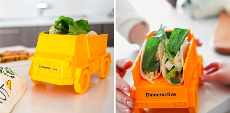 """Keep your kids' tacos upright while they eat — which can hopefully prevent the temper tantrums over """"broken"""" tacos. Sigh, if they only knew how delicious a deconstructed taco really is.<br /><br /><strong>Promising review:</strong>""""This was larger than expected. It washes well in the dishwasher. My grandkids love to have their food served this way."""" —<a href=""""https://www.amazon.com/dp/B084T52KBF?tag=huffpost-bfsyndication-20&ascsubtag=5871416%2C5%2C27%2Cd%2C0%2C0%2C0%2C962%3A1%3B901%3A2%3B900%3A2%3B974%3A3%3B975%3A2%3B982%3A2%2C16385603%2C0"""" target=""""_blank"""" rel=""""noopener noreferrer"""">Terrie, Charleston-SC</a><br /><br /><strong>Get it from Amazon for<a href=""""https://www.amazon.com/dp/B084T52KBF?tag=huffpost-bfsyndication-20&ascsubtag=5871416%2C5%2C27%2Cd%2C0%2C0%2C0%2C962%3A1%3B901%3A2%3B900%3A2%3B974%3A3%3B975%3A2%3B982%3A2%2C16385603%2C0"""" target=""""_blank"""" rel=""""noopener noreferrer"""">$9.99</a>.</strong>"""