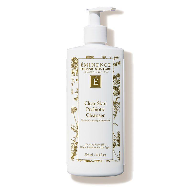 """<p><strong>Eminence Organic Skin Care</strong></p><p>dermstore.com</p><p><strong>$42.00</strong></p><p><a href=""""https://go.redirectingat.com?id=74968X1596630&url=https%3A%2F%2Fwww.dermstore.com%2Fproduct_Clear%2BSkin%2BProbiotic%2BCleanser_47301.htm&sref=https%3A%2F%2Fwww.oprahdaily.com%2Fbeauty%2Fskin-makeup%2Fg36743937%2Fbest-face-wash-for-acne%2F"""" rel=""""nofollow noopener"""" target=""""_blank"""" data-ylk=""""slk:Shop Now"""" class=""""link rapid-noclick-resp"""">Shop Now</a></p><p>This wash is formulated with tea tree oil to balance acne-prone skin, willow bark extract (the natural form of salicylic acid) to purify pores, cucumber juice to minimize the appearance of pores, and lactic acid to exfoliate. </p>"""