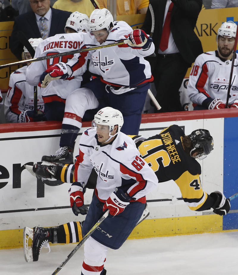 Capitals forward Tom Wilson suspended 3 games 92892281d518