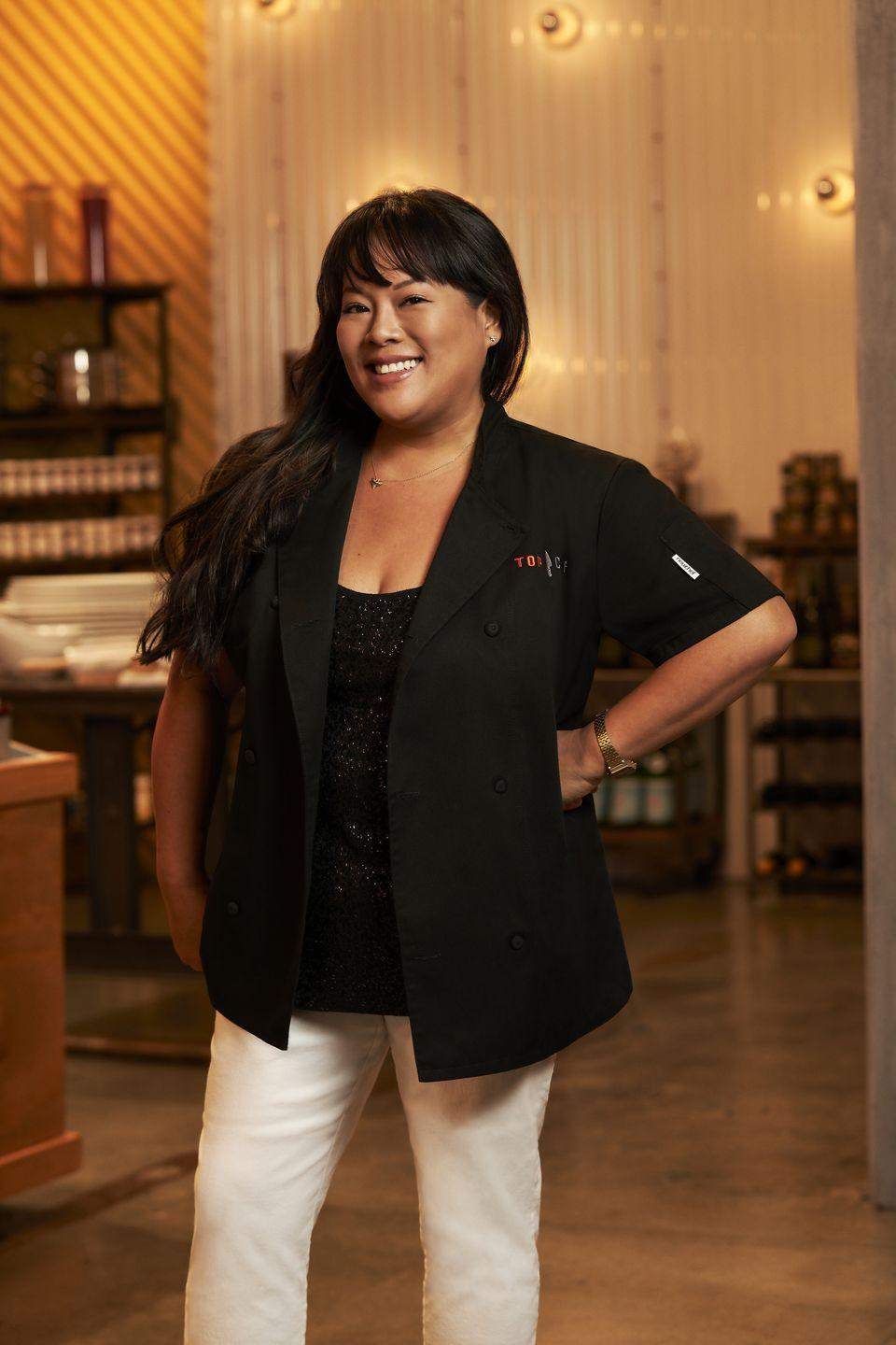"""<p>Contestant <a href=""""https://www.foodandwine.com/news/top-chef/season-15/lee-anne-wong-interview"""" rel=""""nofollow noopener"""" target=""""_blank"""" data-ylk=""""slk:Lee Anne Wong"""" class=""""link rapid-noclick-resp"""">Lee Anne Wong</a> went on to work as a culinary producer—coming up with challenges and time limits—for seasons two through seven. </p>"""
