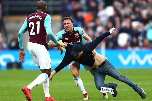 Steve Parish: Crystal Palace don't look at angry West Ham scenes and think 'that is great for us'