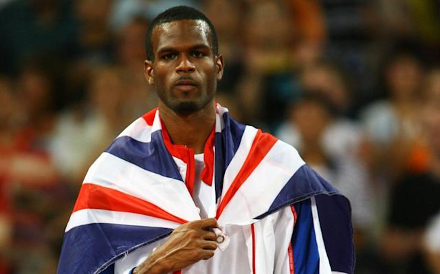 Mason won silver in the high jump at Beijing 2008 - Getty Images