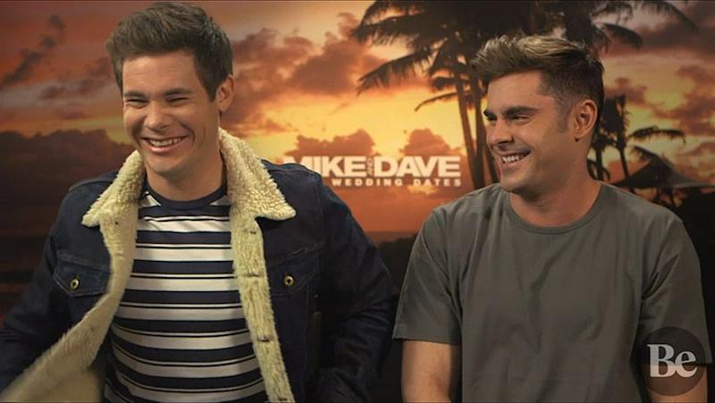 The boys, who are friends in real life, admit they had a great time making the film. Source: Be