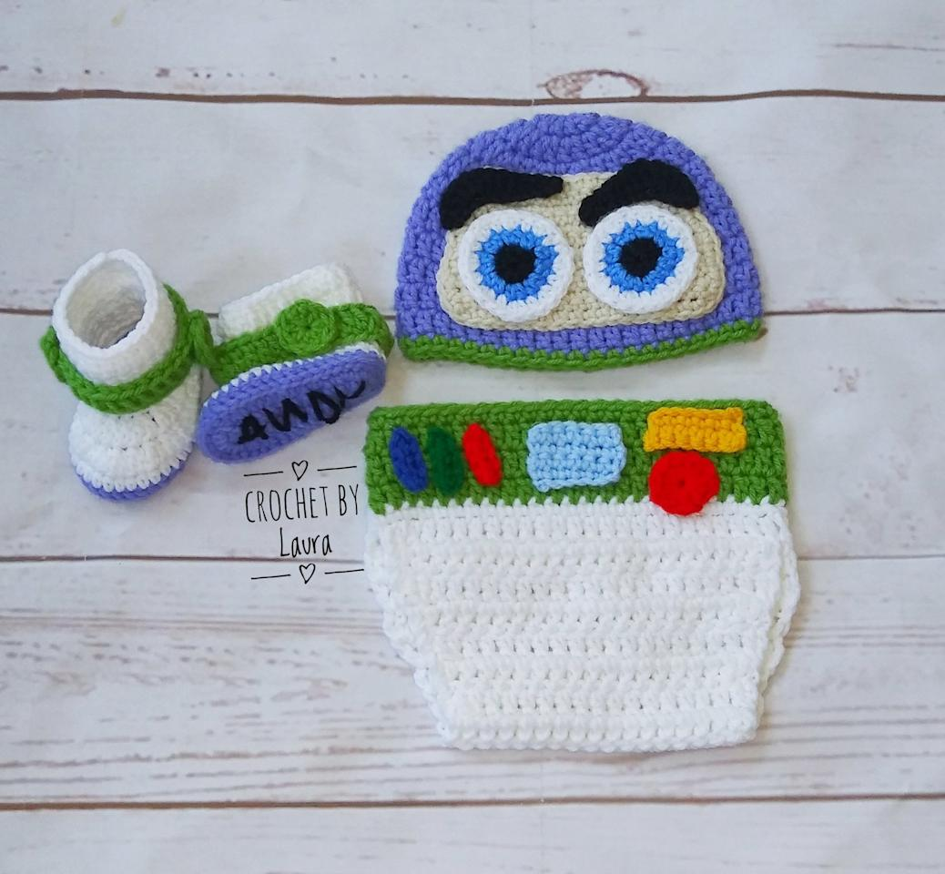 "<p><a href=""https://www.popsugar.com/buy/Crocheted-Buzz-Lightyear-Newborn-Costume-476287?p_name=Crocheted%20Buzz%20Lightyear%20Newborn%20Costume&retailer=etsy.com&pid=476287&price=65&evar1=moms%3Aus&evar9=38207524&evar98=https%3A%2F%2Fwww.popsugar.com%2Ffamily%2Fphoto-gallery%2F38207524%2Fimage%2F46462559%2FBuzz-Lightyear&list1=halloween%2Cbabies%2Challoween%20costumes%2Cnewborn%2Cdiy%20costumes&prop13=api&pdata=1"" rel=""nofollow"" data-shoppable-link=""1"" target=""_blank"" class=""ga-track"" data-ga-category=""Related"" data-ga-label=""https://www.etsy.com/listing/719451551/buzz-lightyear-toy-story-inspired"" data-ga-action=""In-Line Links"">Crocheted Buzz Lightyear Newborn Costume</a> ($65)</p>"