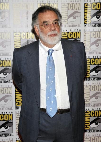 "Francis Ford Coppola is among the Hollywood ""talent"" -- star-studded casts and directors -- to attend Comic-Con (AFP Photo/John Shearer)"