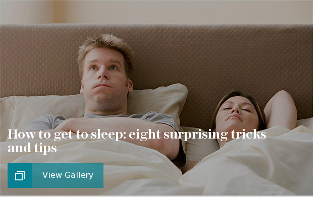 How to get to sleep: eight surprising tricks and tips