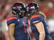Ex-Arizona LB teammates to meet when West Virginia takes on Texas Tech