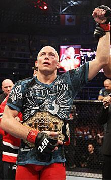 Georges St-Pierre beating Jake Shields by unanimous decision in April 30 was one of the top PPV shows of 2011