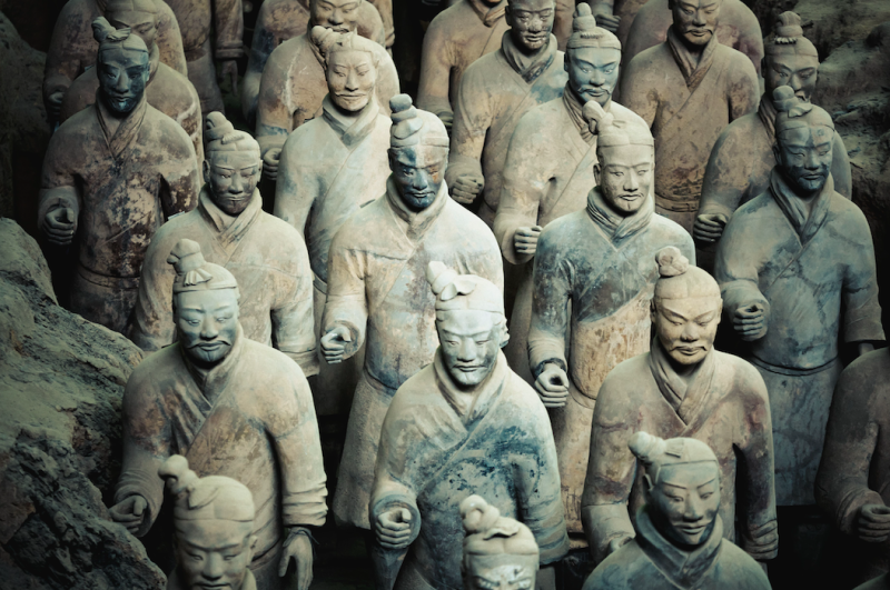 Man accused of taking thumb from 2000-year-old terra-cotta warrior