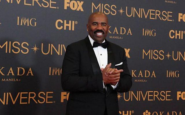Steve Harvey sent a strongly worded note to his staff asking for personal space. (Photo: Getty Images)
