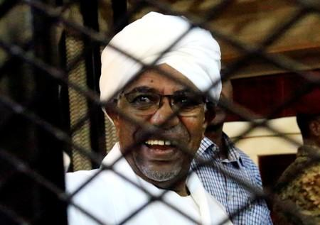 Stacks of cash shown at trial of Sudan's toppled leader Bashir