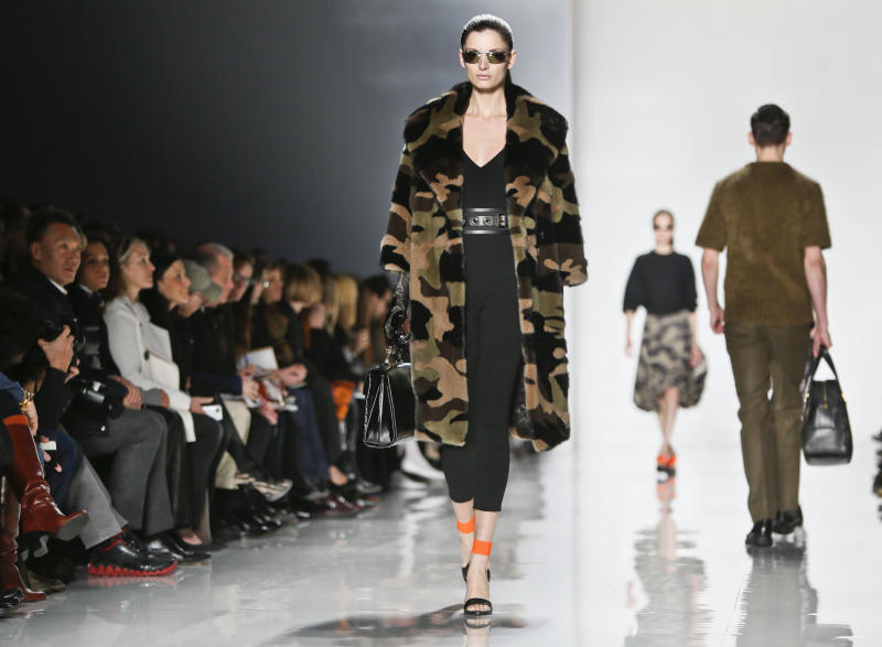 NY Fashion Week fades to black on runway and off